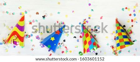 Carnival, carnival hats, banner, header, panorama