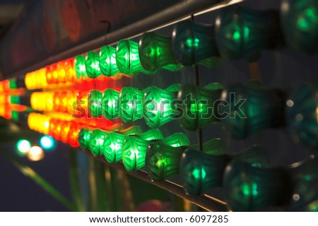 Carnival Lights - stock photo