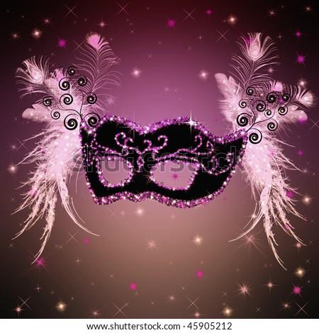carnival brazil mask. stock photo : carnival mask