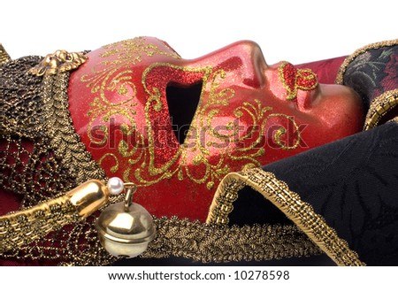 carnival mask from Venice,italy