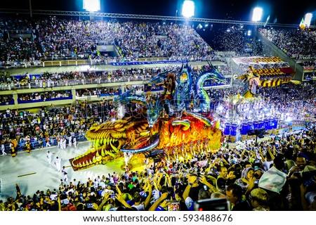 Carnival Rio 2017 / Miniature effect