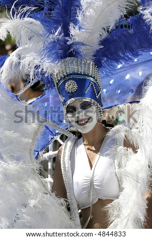 Carnival Woman Portrait