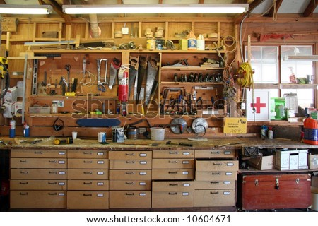 Carpenter's workshop