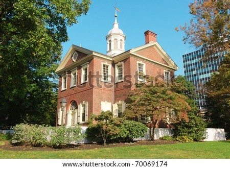 Carpenters Hall at Independence National Historical Park