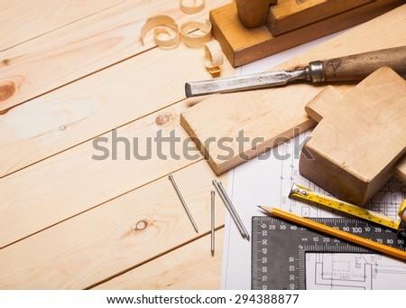 Carpentry, Home Improvement, Blueprint.