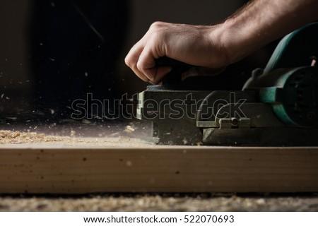 Carpentry workshop routine.