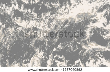 Carpet bathmat and Rug Boho Style ethnic design pattern with distressed texture and effect  Foto stock ©