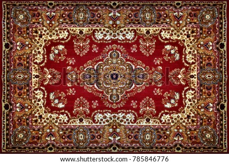 Carpet. Photo Wallpaper for interior. 3D rendering.
