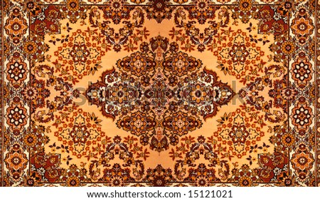 Carpet with pattern - stock photo