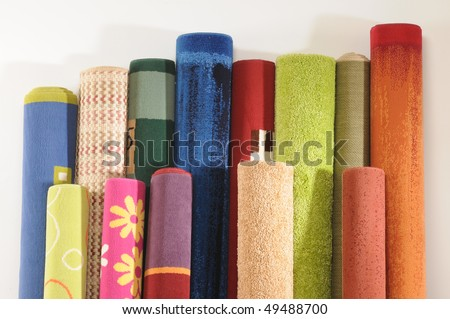 Carpets. - stock photo