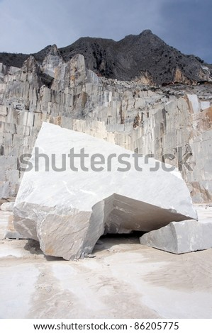 carrara's quarry