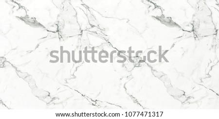 Carrara White premium marble texture white calacatta stone background, Interior kitchen or Bathroom design for Ceramic tile inkjet.