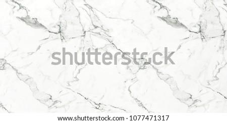 Carrara White premium marble texture white calacatta stone background, Interior kitchen or Bathroom design for Ceramic tile inkjet.