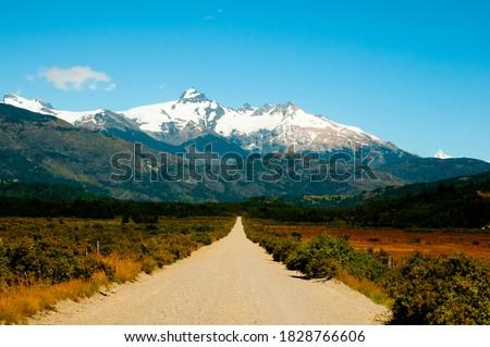 Carretera Austral Road - Chile Foto stock ©