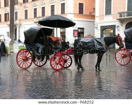Carriage, Piazza di Spagna