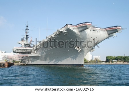 Carrier Midway in San Diego