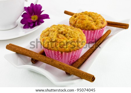 Carrot and Apple Muffins