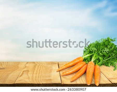 Carrot. Carrot vegetable with leaves isolated on white background cutout