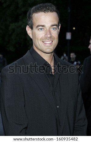 Carson Daly at The Fresh Air Fund Salute to American Heroes, Tavern on the Green Restaurant, New York, NY, June 02, 2005