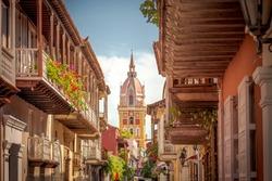 Cartagena de Indias the walled city - Colombia