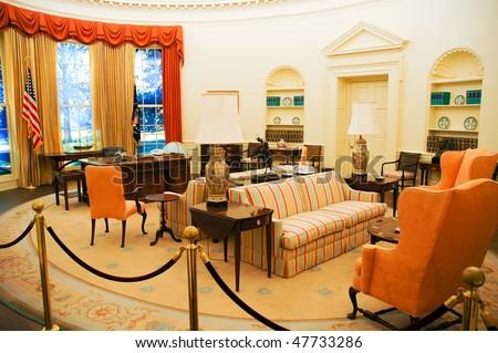 Carter Center Oval Office