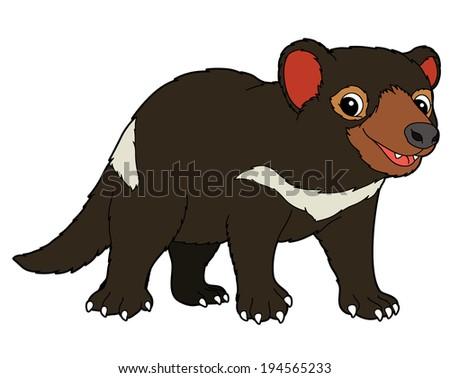 Tasmanian Devil Cartoo...
