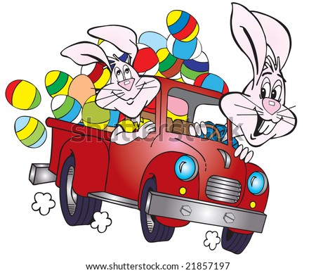 cartoon easter bunnies pictures. cartoon easter bunnies and
