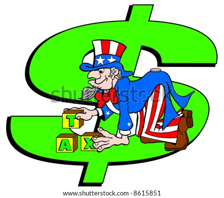 dollar sign cartoon. large dollar sign in