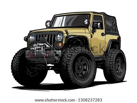Cartoon Car Illustration