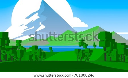 Cartoon Countryside