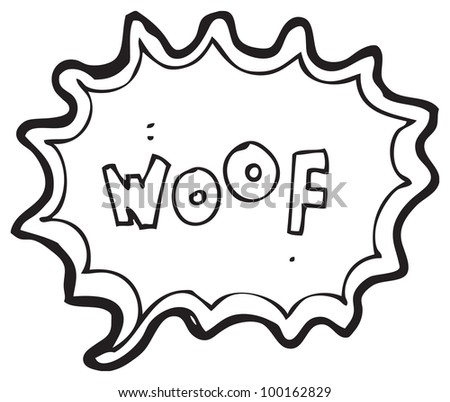 Cartoon Dog Barking