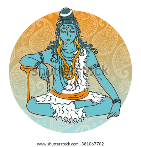 Image result for sitting in meditation cartoon