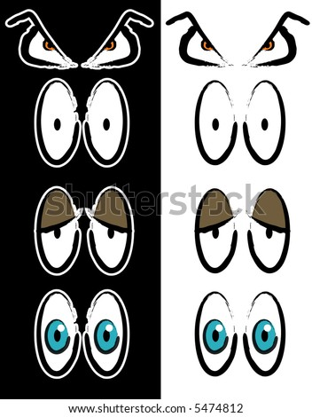 cartoon clip art eyes. Eye free clip art cartoon