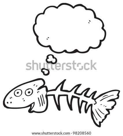 Cartoon Pictures Fish Bones Cartoon Fish Bones