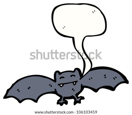cartoon halloween bat