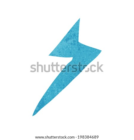 Type Lightning Bolt Symbol Cartoon Lightning Bolt Symbol