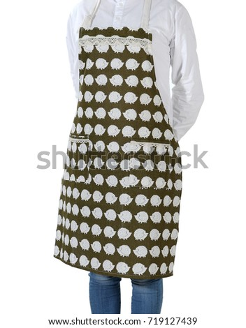 Cartoon little hedgehog apron #719127439