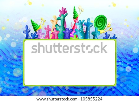 Sea Creatures Cartoon Cartoon Sea Creatures Sea