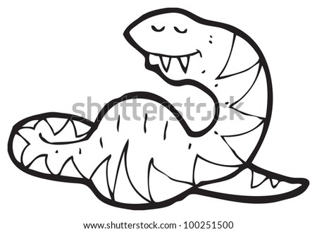 Big Belly Drawings Cartoon Snake With Big Belly
