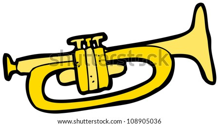 cartoon trumpet