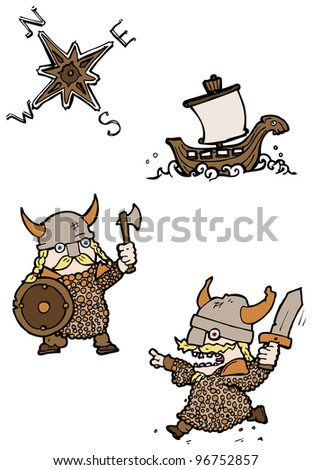 cartoon viking collection