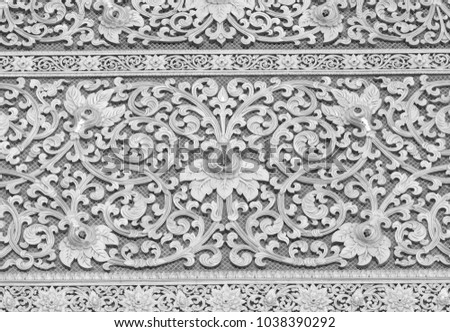 carved wall background