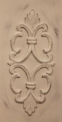 Carved Wooden Fleur-de- lis