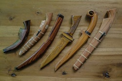 carving knives and traditional weapons