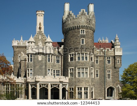 casa loma toronto. stock photo : Casa Loma