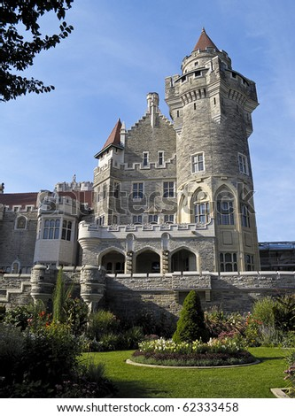 Casa Loma, Toronto's castle built by Sir Henry Pellat in the early 1900s