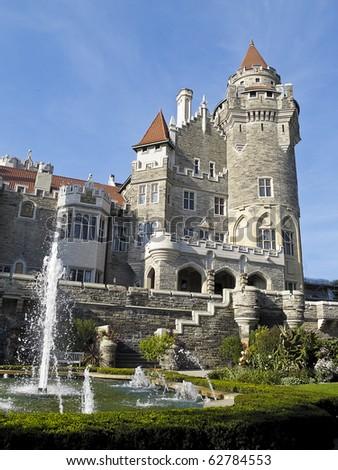 Casa Loma, Toronto's castle built by Sir Henry Pellatt in the early 1900s