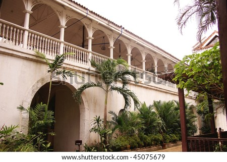 Casa Manila, restored Spanish Merchants house in Manila in the Philippines