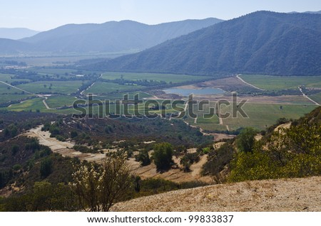 Casablanca Valley in Chile