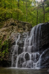Cascade falls at Patapsco State Park, MD